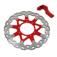 320mm Front Floating Brake Disc Rotor+Bracket For Honda CR125 250 CRF250R CRF450