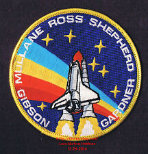 LMH PATCH Badge  1988 NASA SPACE SHUTTLE Mission  STS-27 Atlantis  Ross Shepherd