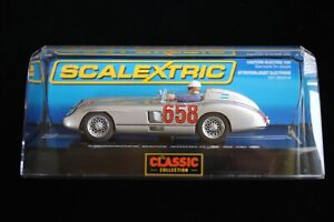 SCALEXTRIC CLASSIC COLLECTION MERCEDES-BENZ 300 SLR MILLE MIGLIA 1:32 SCALE NEW