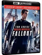 MISSION IMPOSSIBLE 6: FALLOUT (2 BLU-RAY 4K ULTRA HD + Blu-ray) TOM CRUISE