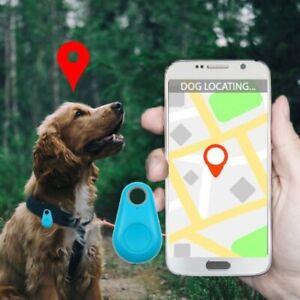Pet GPS Tracker Smart Mini Waterproof Bluetooth Tag for Dog Keys Cat Bag Kids