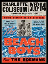 "The Beach Boys Charlotte 16"" x 12"" Photo Repro Concert Poster"
