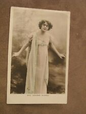 BB real photo Postcard - Miss Adrienne Augarde - Edwardian Actress