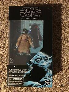 "Star Wars Black Series Yoda Force Spirit Yoda 6"" Figure"