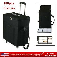 Eyeglasses Optical frame Reading Glasses Display case Sample box travel Trolley