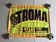 Troma Studios 35 Years Of Reel Independence Poster - Toxie - Used Slight Damage