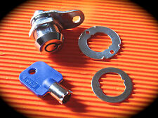 19mm Tubular Cam Lock-Perfect Higher Security Key Option Toolboxes or Letter box