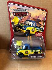 Disney Cars DEXTER HOOVER AVEC DRAPEAU À DAMIER très rare!!!