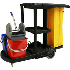 HARTLEYS JANITORIAL/CLEANING TROLLEY HOTEL/SCHOOL CLEANER/JANITOR HOUSEKEEPING