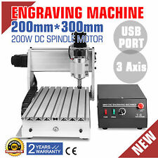 3 AXIS 3020T USB CNC ROUTER ENGRAVER CUTTING CARVING TOOL WOODWORKING MACHINE