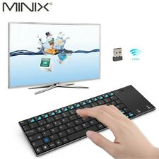 MINIX Mini Wireless Keyboard And Mouse TouchPad Combo For TV Box Tablet HTPC K2