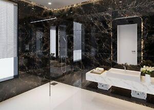 Black Marble High Gloss Porcelain Tiles 120x60, 9mm Wall-Floor, Kitchen-Bathroom