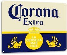 Corona Extra Beer Logo Retro Wall Art Decor Bar Pub Man Cave Metal Tin Sign New