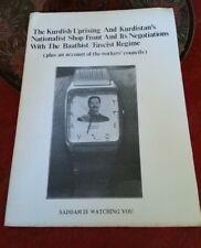 The Kurdish Uprising, scarce radical publication, Iraq, Syria, Turkey