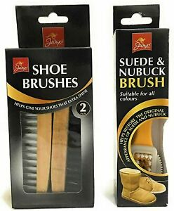 Double Pack Side Suede Leather Nubuck Shoes Boot Cleaner Stain Household Cleanin