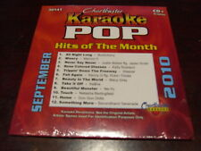 CHARTBUSTER POP HITS KARAOKE 30141 SEPTEMBER 2010 CD+G 12 SONGS