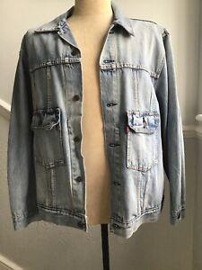 mens levis jean jacket, XXL, brand new, Stonewash