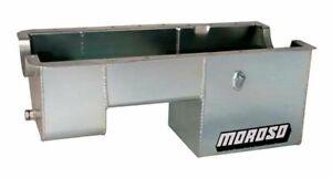 "Moroso Oil Pan 9"" Deep 7 Quart Steel Rear Sump for Ford 289 - 302 20511"