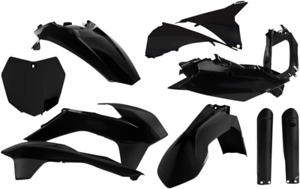 Acerbis Complete Plastic Fender Body Kit Black KTM 300 XC 2015-2016