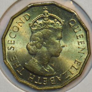 Seychelles 1953 10 Cents 196055 combine