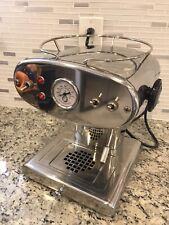 Francis Francis Stailess Steel X1 Espresso Maker machine ground coffee 110-120V