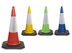1 Large Red Traffic Cone 750mm