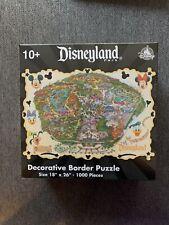 Disneyland Map Decorative Border Jigsaw Puzzle 1000 Piece Disney Parks exclusive