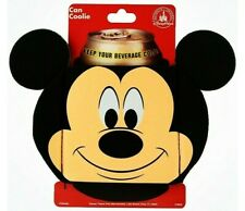 New Disney Parks Mickey Mouse Icon Can Coolie Beverage Holder Mickey Ears