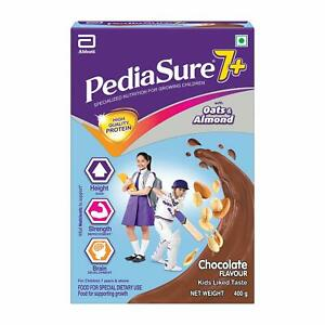 Pediasure 7+ Specialized Nutrition Drink Powder for Growing kids Chocolate 400gm