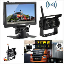 DC12-24V Wireless IR Car Rearview Reversing HD Camera Night Vision + LCD Monitor