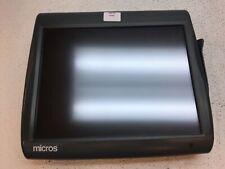 Micros Workstation 5A 400814-122 Touchscreen Posready 2009 Terminal, Fair Cond.