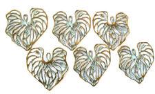 6PCS Green Patina on Brass charms-Pendant Beading Supplies