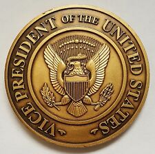 """Vice President of The United States VPOTUS Vice Presidents Residence 1.75"""" Brass"""