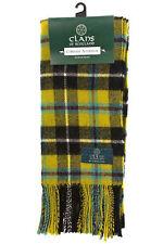 Scottish 100% Wool Tartan Clan Scarf Cornish National Brand New