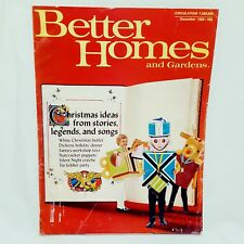 Better Homes and Gardens Magazine Dec 1969 Christmas Toys Buffet Party Stories