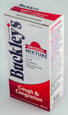 BUCKLEY'S COUGH & CONGESTION SYRUP 200mL (6.8oz) CANADIAN