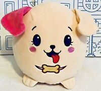 Pikmi Pops Jumbo Plush Bento Stretchy Dog Scented Stuffed Animal Puppy Doll NWOT