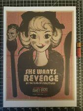 She Wants Revenge Concert Poster -  14 x 10 Reprint