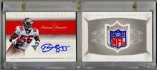 2015 National Treasures DERRICK BROOKS NFL Logo Shield Booklet Auto 1/1 aMaZiNg!
