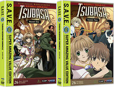 Tsubasa . Reservoir Chronicle . The Complete Season 1 + 2 . Anime . 8 DVD . NEU