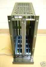 Bosch 5 Slot CNC PLC Rack Card Rack CC220 TG 071774-101 24 VOLT 12 AMP USED