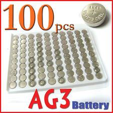 100 pcs AG3 LR41 192 384 LR736 SR41 Alkaline Battery