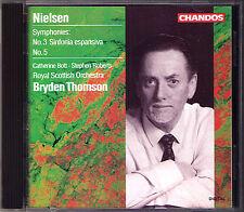 Bryden THOMSON: NIELSEN Symphony 3 Espansiva 5 Catherine Bott Stephen Roberts CD