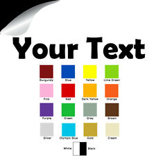 Custom Vinyl Decal Text, Die Cut Sticker Words Letter for Cell Phone, Laptop PC