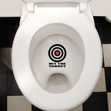 Visez la cible Drôle Cool Imperméable Autocollant Mural Couvercle de Toilette Autocollant