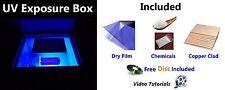 New UV Light Exposure Box PCB Photosensitive DIY Fabrication Machine - EPK067