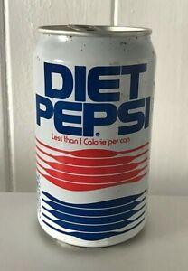 Very RARE Original Vintage Retro 1990's Diet Pepsi Can 330ml + Ring pull - Prop
