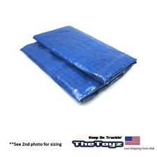RC Scale Rock Crawler, Drift, Garage Miniature Blue Folded Scale Tarp FT01