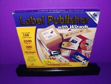 COSMI Label Publisher with Wizards PC CD ROM Windows Brand New B466