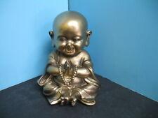 Buddha statue baby polyresin home decor  happy smile
